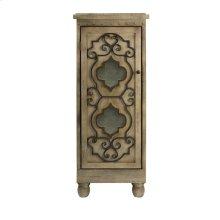 Ermosa Wood Chest w/ Iron Door