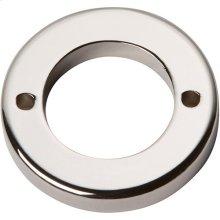 Tableau Round Base 1 7/16 Inch - Polished Nickel