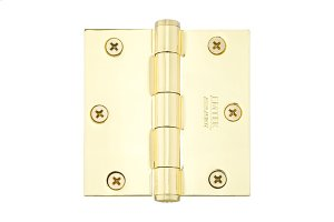 """3-1/2"""" x 3-1/2"""" Square Corners Residential Plain Bearing, Plated Steel Product Image"""