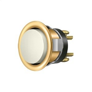 Replacement Bell Button Mechanism - PVD Polished Brass Product Image
