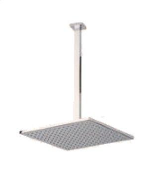 "12"" Shower Rainhead, 14"" Ceiling Mount Arm - Brushed Nickel Product Image"