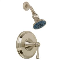 Brushed Nickel While Supplies Last - Carol Stream Single Handle Shower Only Trim Kit W/ Single Function Transitional Showerhead 2.5GPM