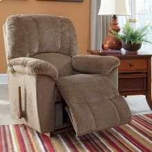 Hayes Rocking Recliner in Mushroom Fabric