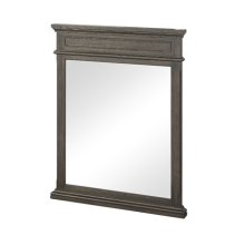 "Oakhurst 28"" Mirror -Burnt Chocolate"