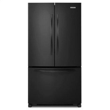 20 Cu. Ft. Counter-Depth French Door Refrigerator, Architect® Series II - Black