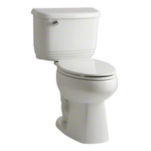 Riverton™ ADA 2 Piece Toilet with 1.28 GPF and Elongated Bowl - White Product Image