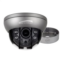 HD-TVI 2MP Flexible Intensifier® Technology Dome Camera with Junction Box,2.8-12mm motorized lens, Dark Gray Housing
