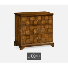 Country Walnut Small Chest of Drawers