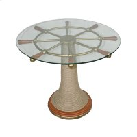 Ships Wheel Table Product Image