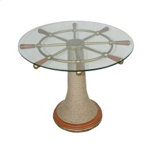 Ships Wheel Table