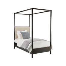 Kettle Framework Upholstered Twin Bed