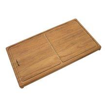 Iroko-wood sliding chopping board 8643 000