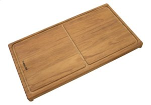 Iroko-wood sliding chopping board 8643 000 Product Image