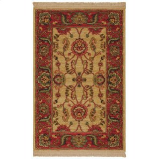 Agra Ivory Rectangle 2ft 6in X 4ft