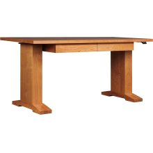 Cherry Hi-lo Standing Desk, No Inlay