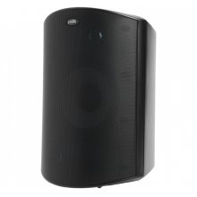 High Performance All Weather Outdoor Loudspeaker with Dual Tweeters and PowerPort Bass Venting in Black