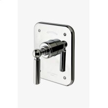 Ludlow Pressure Balance Control Valve Trim with Metal Lever Handle STYLE: LDPB10
