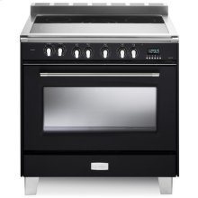 "Matte Black 36"" Verona Classic Electric Single Oven"