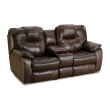 The Avalon - Double Reclining Console Sofa with Power