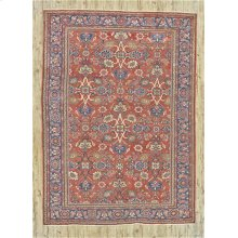 "MAHAL 000033255 IN RUST BLUE 8'-7"" x 12'-0"""