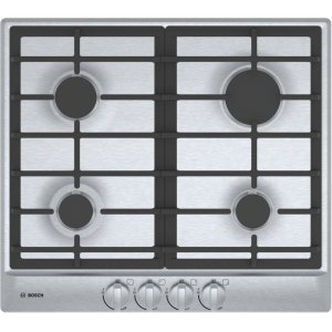 "500 Series, 24"" Gas Cooktop, 4 Burners, Stainless Steel Product Image"