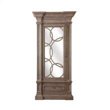 Nantucket Display Cabinet with Mirrored Doors