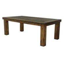 5' Laguna Table W/Reclaimed Wood