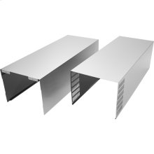 Wall Hood Chimney Extension Kit - Stainless Steel, Stainless Steel
