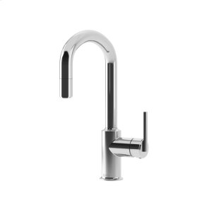 Pull Down Kitchen Faucet With 1-mode Spray Head - Chrome Product Image