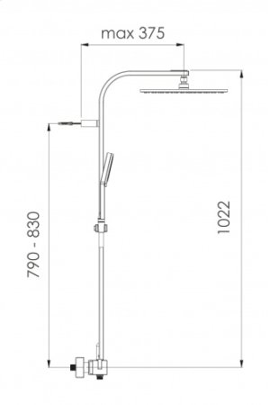 KIT SYSTEM THERMOSTATIC PURE Product Image