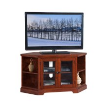"Westwood 46"" Corner TV Stand with Bookcases #87287"