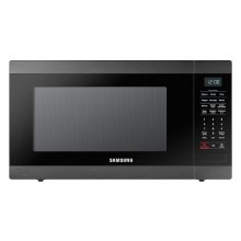 1.9 cu. ft. Countertop Microwave with Sensor Cooking in Fingerprint Resistant Black Stainless Steel