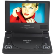 7 inch slim line portable DVD player