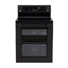 6.1 cu. ft. Capacity Electric Double Oven Range with SuperBoil Burner and EasyClean®