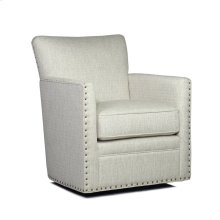 Logan Swivel Chair - Power Linen