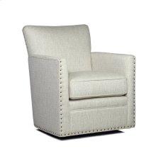 Logan Swivel Chair - Power Linen