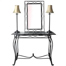 Esther 4-piece Set (includes Table, Mirror, 2 Lamps)