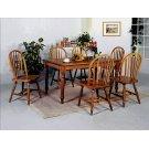 "Dark Oak Arrow Windsor Chair 38""h Product Image"