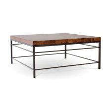 """Newhart 42"""" Square Cocktail Table"""