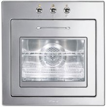 """60CM (approx 24"""") """"Piano Design"""" Electric Multifunction Oven Polished Stainless Steel"""