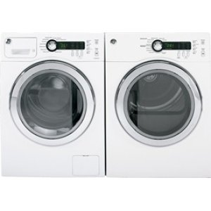 24 inch wide front load washer. 2.6 cu ft capacity, Energy Star qualified (CEE Tier III), stainless steel drum, internal water heater, 1400 rmp, LED display