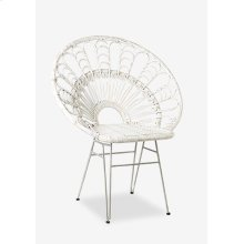 Peacock Accent Chair (33x25x39.5)