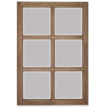 Italian Window Pane w/ Mirror - DRW