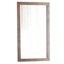 Small Milano Mirror in Antique Copper