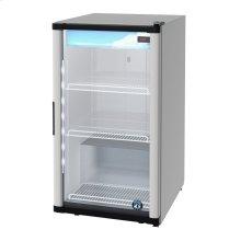 RM-7-HC, Countertop Refrigerator, Single Section Glass Door Merchandiser