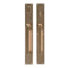 "Metro Entry Set - 2 3/4"" x 20"" Silicon Bronze Brushed"