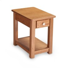 Della 1-Drawer Chair Side Table