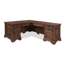 2 PIECE L-SHAPED DESK