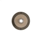 Round Flute Doorbell Button Silicon Bronze Brushed with Basic Product Image