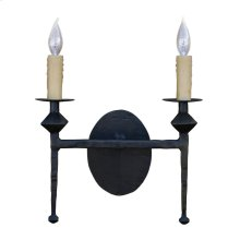Forest Hill Iron Double Wall Sconce